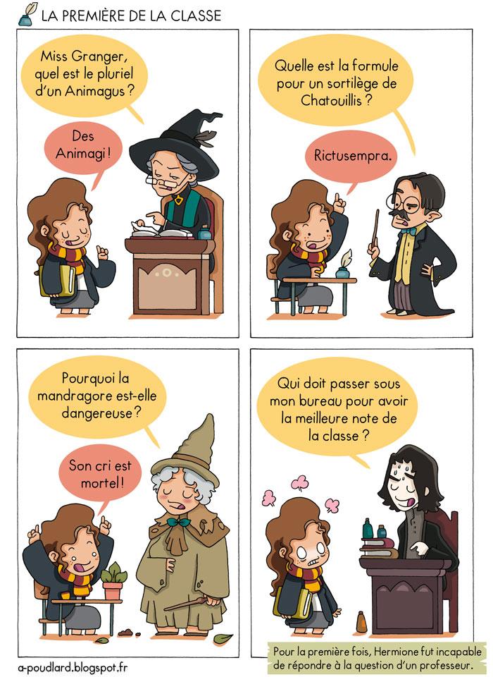 Un blog bd magique en direct de poudlard les d couvertes - Harry potter 8 et les portes du temps ...